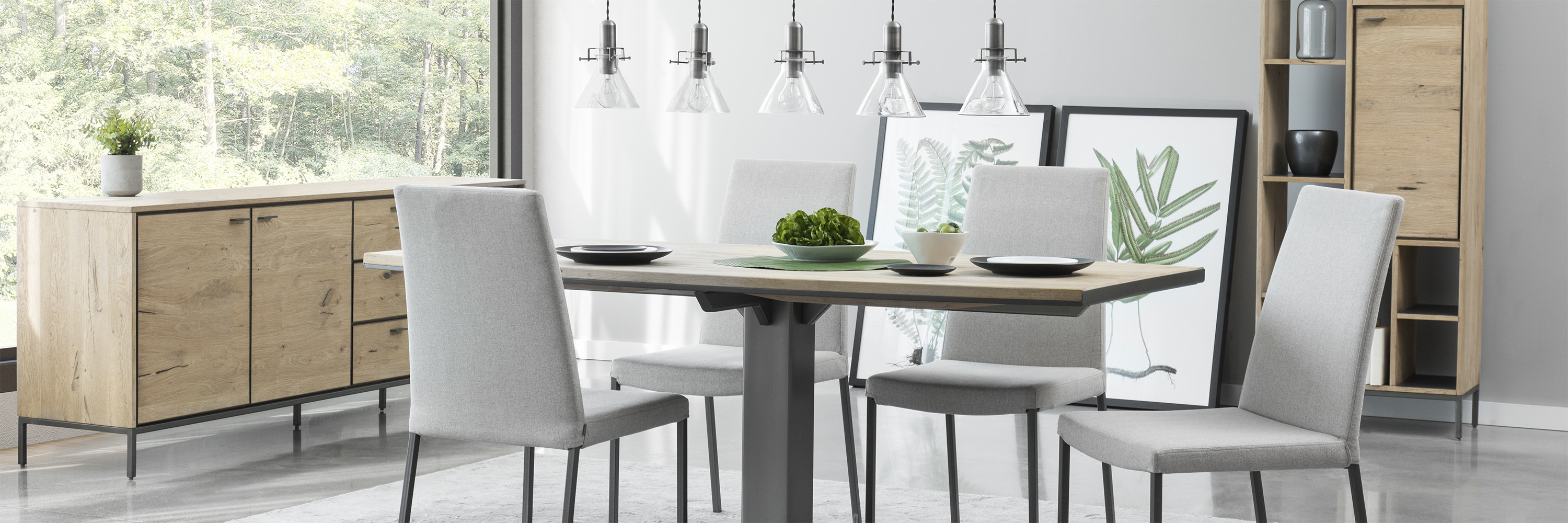 Table D Appoint Cuisine dining room | contemporary furniture | maison corbeil