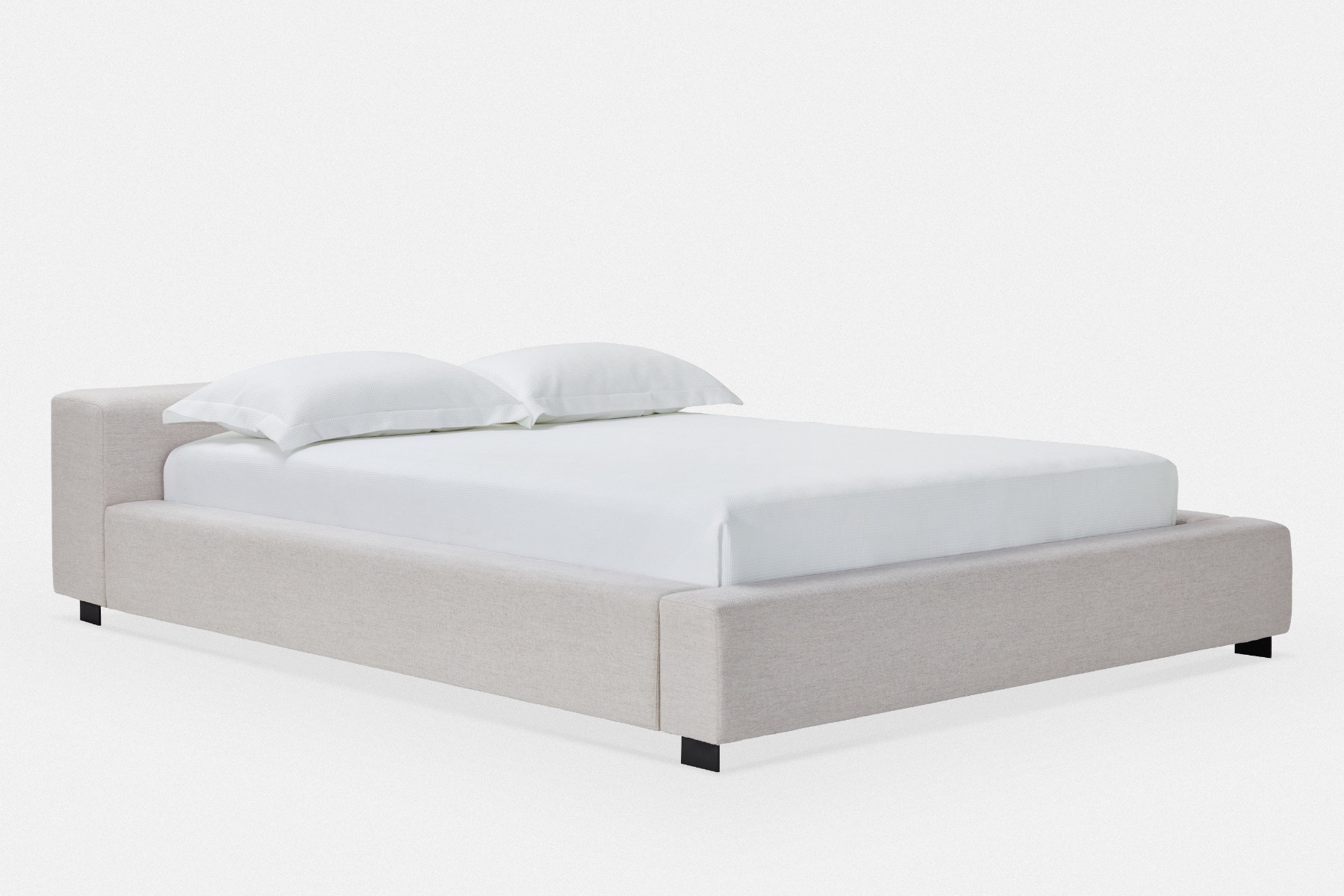 Ampio Upholstered Bed Queen Or King Size Maison Corbeil