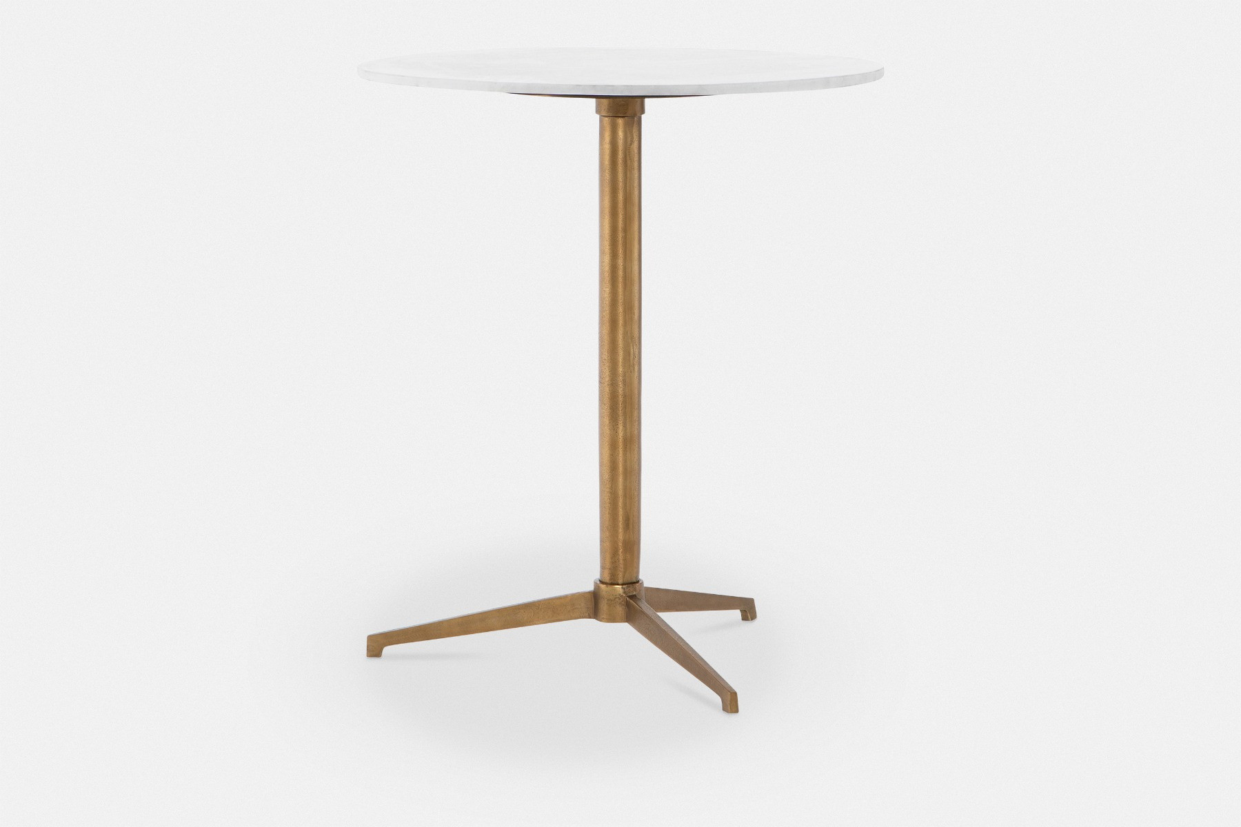 Helen Counter Height Table With Marble Top Maison Corbeil