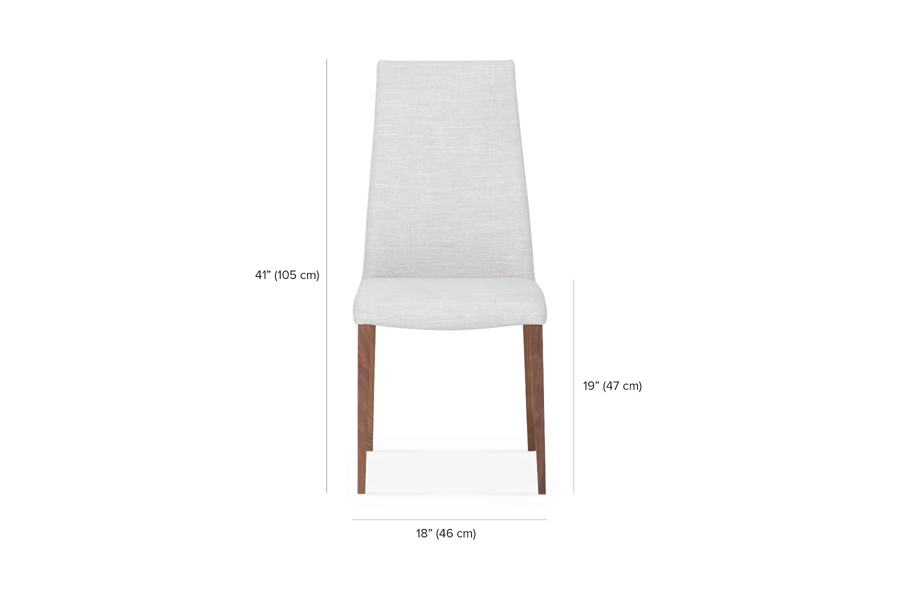 Marvelous Dali High Backrest Dining Chair Maison Corbeil Andrewgaddart Wooden Chair Designs For Living Room Andrewgaddartcom