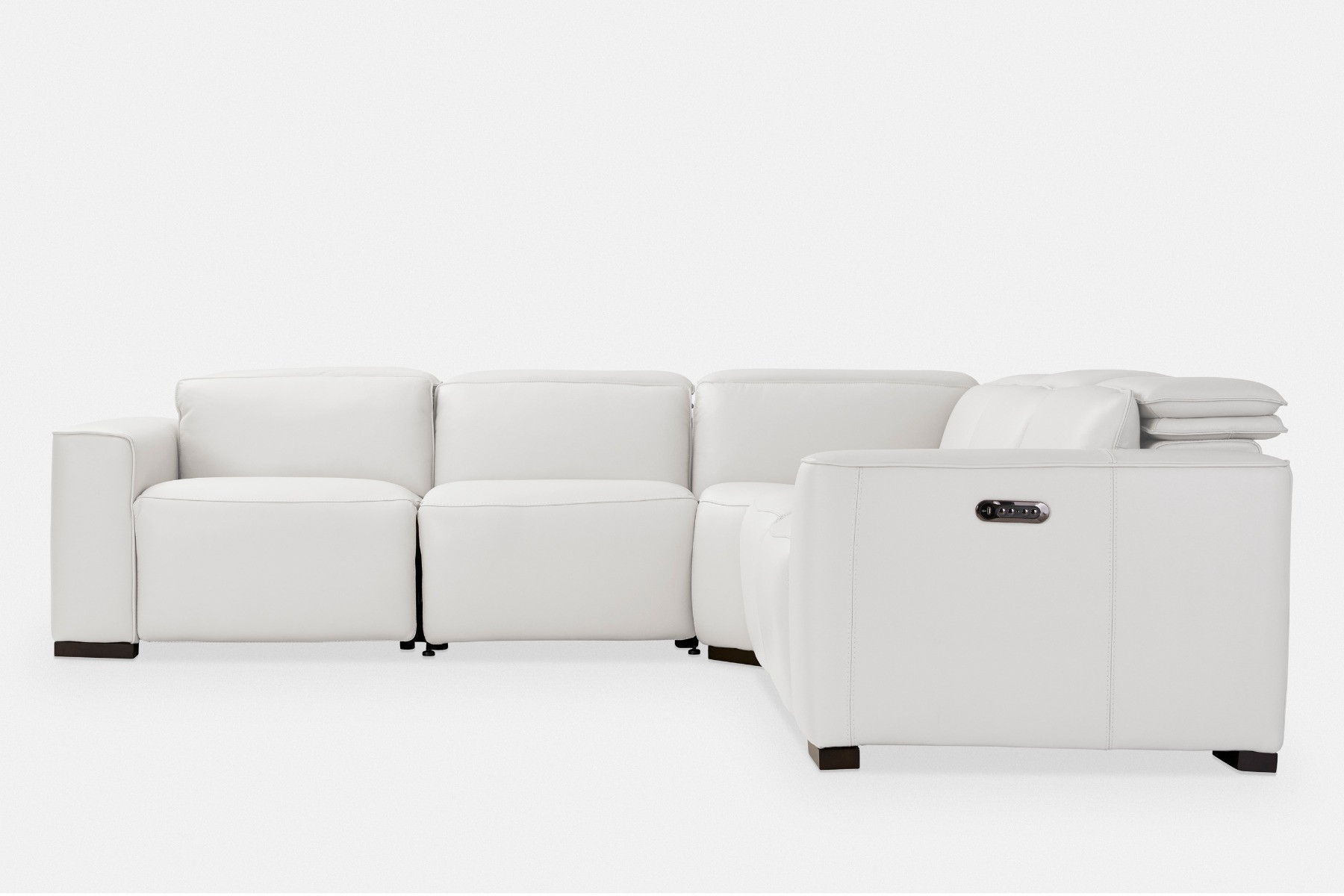 Awesome Rome Leather Sectional Sofa Maison Corbeil Caraccident5 Cool Chair Designs And Ideas Caraccident5Info