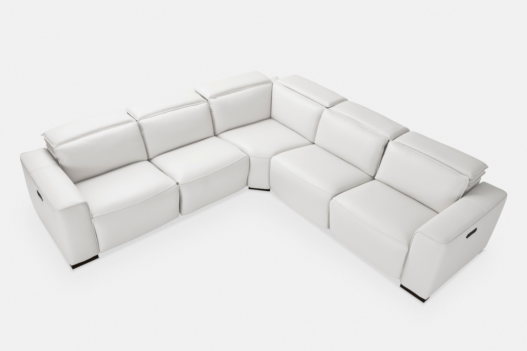 Groovy Rome Leather Sectional Sofa Maison Corbeil Caraccident5 Cool Chair Designs And Ideas Caraccident5Info
