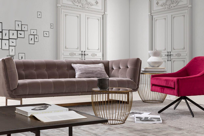 121257 sofa 3 places Centennial